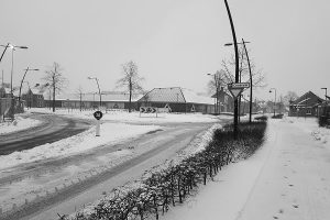 Sneeuw en gladheid, grijs